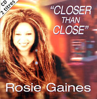 Rosie Gaines ‎CD Single Closer Than Close - France (VG+/EX)
