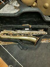 Buescher 400  low A baritone saxophone