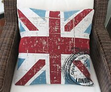 """UNION JACK  GREAT BRITAIN CUSHION COVER 18"""""""