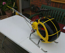 Vintage KKK H300 Petrol RC Helicopter (3 Blade Head) Very Rare MUST SEE