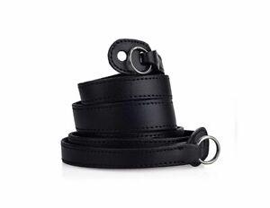 Leica Tragriemen mit Schutzlasche  - ART 24 023 - schwarz -  * Fotofachhändler *