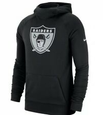 Nike Men's Las Vegas Raiders Lightweight Historical Hoodie Sweatshirt Medium M