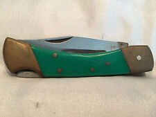 Collectible Vintage Pre-owned Lock Type Pocket Knife From Pakistan