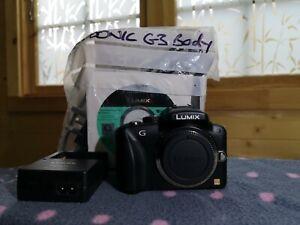 Panasonic LUMIX DMC-G3 16.0 MP Digital Camera Body + accessories Olympics 2012