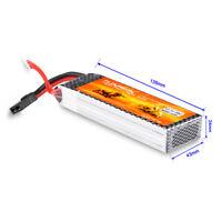 FLOUREON 3S 11.1V 4000mAh 25C LiPo Battery Pack for RC Airplane Car Traxxas Plug