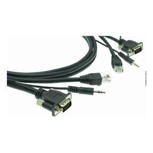 Kramer VGA Audio and Data (RJ45) Combo Cable 6ft