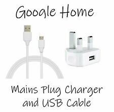 BRAND NEW Google home/mini/max replacement with USB wall charger and USB lead