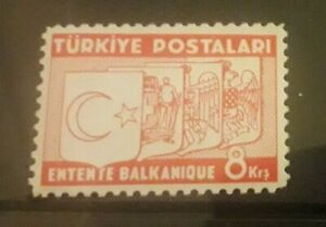Turkey 1937 SG1196 in unmounted mint condition