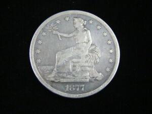 1877-S Trade Silver Dollar Fine 60510