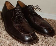 BELVEDERE FLORENCE GENUINE OSTRICH SHOES SIZE 10.5 Mens