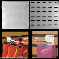 New Strong Clear/ Self Adhesive Hang Tabs Stickers for Euro Hook/Slot/Hang Tabs