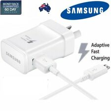 Genuine USB 2A AC Wall Charger + data Cable for Samsung Galaxy S4 S5 S6 Note 4