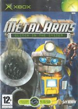 Metal Arms Glitch in the System Microsoft Xbox 12+ Action Adventure Shooter Game