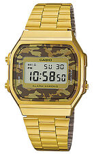 CASIO Digital Alarm-Chronograph Chrono A168WEGC-5EF