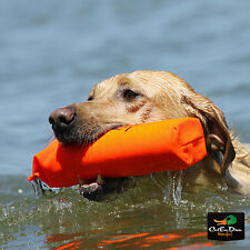 "AVERY GREENHEAD GEAR GHG 2"" ORANGE CANVAS BUMPER DOG TRAINING THROWING DUMMY"