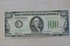 Series 1934 $100 Dollar Federal Reserve Note, Philadelphia, Crisp