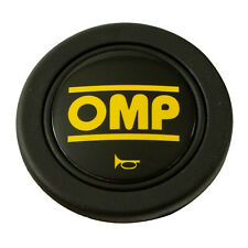Black OMP Horn Button Car Steering Wheel Center Cap