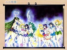 Japan Anime Sailor Moon Usagi Tsukino Home Decor poster Wall Scroll 60*45cm