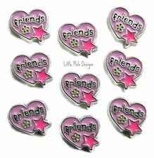 'Friends' Floating Charm for Living Memory Locket Family And Friend Charms