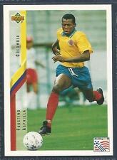UPPER DECK WORLD CUP USA 1994- #041-COLOMBIA-LATER-NEWCASTLE-FAUSTINO ASPRILLA