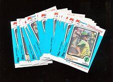 1982 Topps K-Mart  #23 1973 Reggie Jackson 24 Card Lot Nice!
