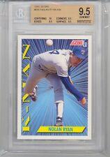 1991 Score Nolan Ryan (HOF) (K-Man) (#686) (10 Centering/3-9.5's) BGS9.5 BGS