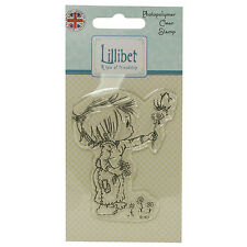 HOLDING FLOWER - Lillibet Collection Mini Clear Stamp