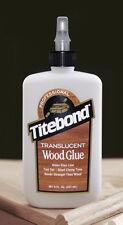 Titebond Original Clear Translucent Wood Glue 8oz 237ml