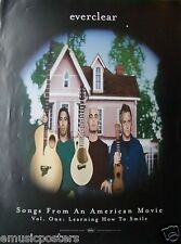 """Everclear """"Songs From American Movie"""" U.S. Promo Poster- Alternative Rock Music"""