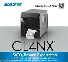 SATO CL408NX 203 DPI 10ips Serial Parallel USB Ethernet Bluetooth Label Printer