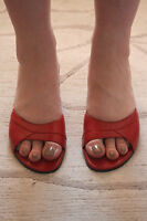 MARKS AND SPENCER LEATHER SANDALS WORN ONCE