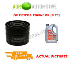DIESEL OIL FILTER + FS 5W40 ENGINE OIL FOR VOLVO V40 1.9 116 BHP 2000-04