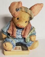 Tlp This Little Piggy Enesco This Little Piggy Had None 1994 Figurine Numbered