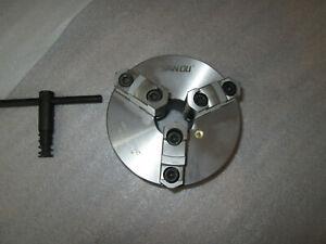 3-Backen-Drehfutter Ø 160mm, SANOU Dreibackenfutter  K11-160A