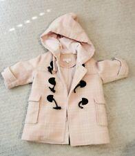Nicholas & Bears Winter Pink Wool Coat Toddler Girl (12M) - Royal Elegant Horn