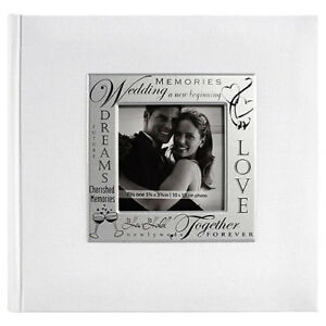 MBI Expressions 4x6 Photo Album Wedding White (Same Shipping Any Qty)