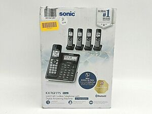 New Panasonic KX-TGF775S Link2Cell 5 Handset Cordless Phones -NR2248