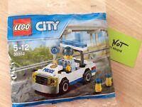 LEGO voiture de police polybag Neuf Scellé Rare ref: 30352