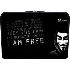 """Housse Neoprene PC Ordinateur Portable 15.6"""" pouces - Anonymous - ref 77"""