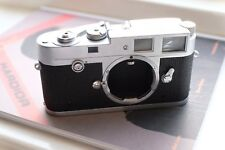 Leica M2 35mm Button Rewind L-Seal No Self Timer 1958 MP Chrome