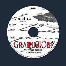 Graphology 30 PDF E-Books 1 DVD Signatures,Autographs,Forgery,Document Analysis