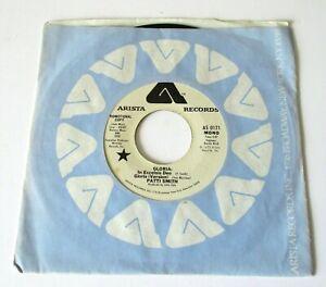 """Patti Smith - Gloria USA 75 Arista Promotional Mono/Stereo 7"""" Black Arista Logo"""