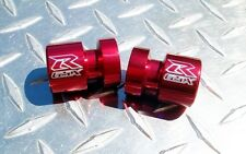 RED Suzuki GSXR Swingarm Spools / Bobbins / Sliders GSX-R600 750 1000 1100