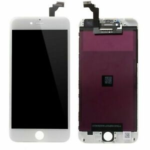 Lcd Touch Screen Ricambio Tecnologia JK5 per Apple Iphone 6 Plus A1522 Bianco