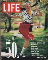 ORIGINAL Vintage Life Magazine June 16 1972 The '50s