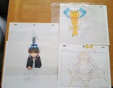 Cardcaptor Sakura Kero and Li Original Cels and sketch