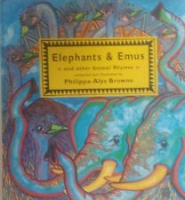 Elephants & Emus,  Compiled By Philippa-Alys Browne, GC~LG~H/C  RARE!! FREE POST