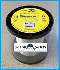 SEAGUAR INVIZX 100% Fluorocarbon Line 6lb/1000yd 6VZ1000 FREE USA SHIP! 06VZ1000