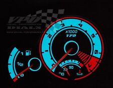 Peugeot 206 GTI Speedo clock dash cluster interior custom bulb lighting dial kit