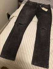 "Brooklyn Supply Co. Super Skinny Jeans 32""W30""L New with Tags Retail $195"